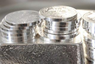 Geldanlage in echte Silbermnzen und Silberbarren